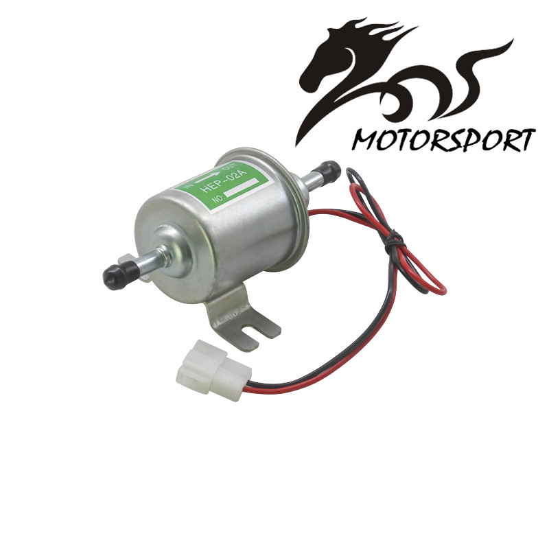 Universal Diesel Gasoline Petrol 12V Electric Fuel Pump HEP-02A Low Pressure