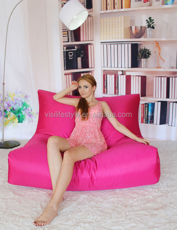 red bean bag lazy sofa for couple recliner two people ban bag cover indoor furniture  sc 1 st  Alibaba & Red Bean Bag Lazy Sofa For Couple Recliner Two People Ban Bag ... islam-shia.org