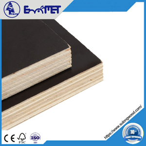 Film Faced Plywood Poplar Material WBP 15mm 11-Ply Boards shuttering plywood