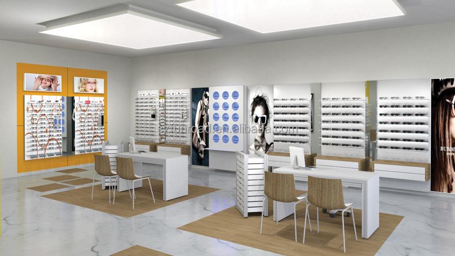 Diseño de muebles para sunglasses shop, Gafas de sol vitrina tienda de óptica...