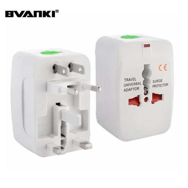 Gloednieuwe elektrische US/EU/UK/AU multi plug Travel Converter AC Power Oplader Adapter smart universele adapter