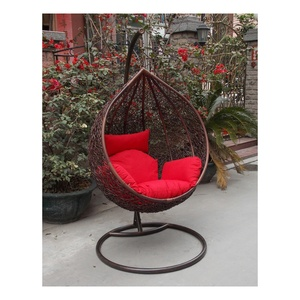 Outdoor Indoor Cheap Hanging Rattan Egg Chair