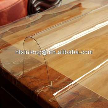 Transparent Thick Plastic Roll Table Cover Buy Thick