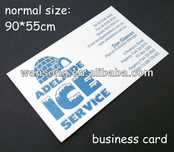 350g white cardboard paper high quality printing paper cards name card business card - Name Card Printing