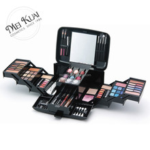 top quality big complete makeup kit portable for professionals box
