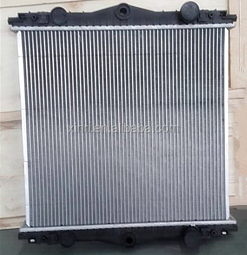 Aluminum truck radiator for DAF truck spare parts LF45 130/150/160/170(2001) 1403273 1407721