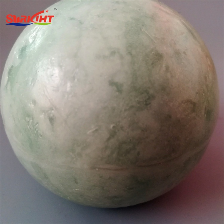 Marble Texture Festival Hanging Ball Candle