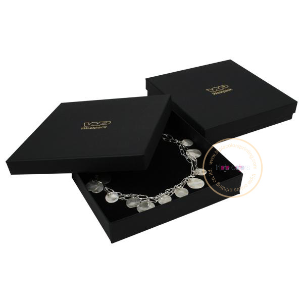 custom Luxury necklace box / Jewelry packaging box