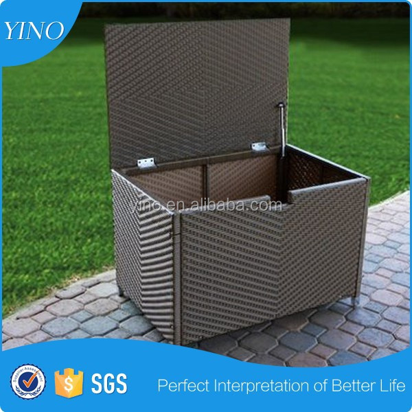 Outdoor Wicker Storage Box For Sales RL0164