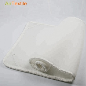 Customized White 3D air mesh mattress with 100% polyester material