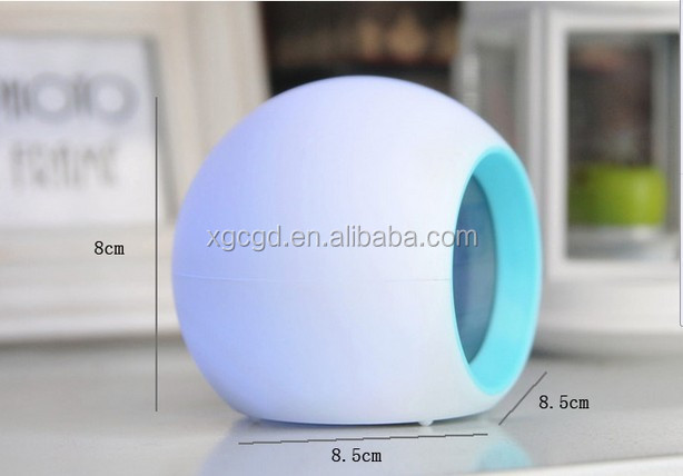 7 different LED colors light for travail with alarm clock