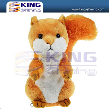 High Quality Animated Talking Plush Squirrel Toy Soft Electronic