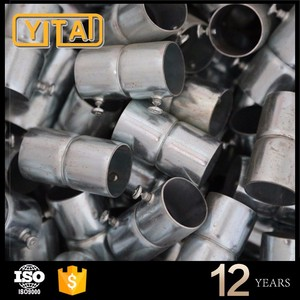 Made of high quality pipes electrical steel conduit parts and accessories