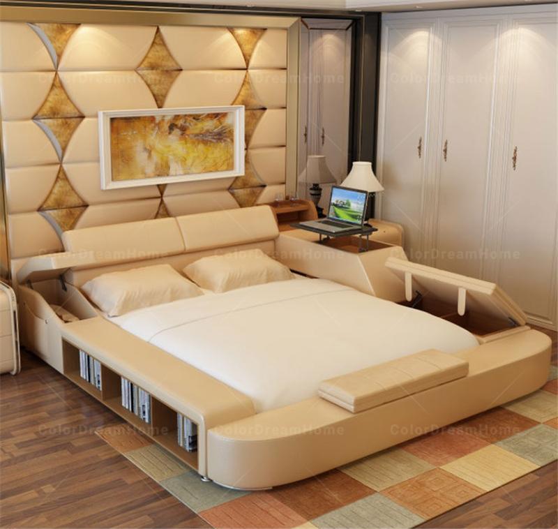 Bedroom Furniture Wooden wood double bed designs with box, wood double bed designs with box