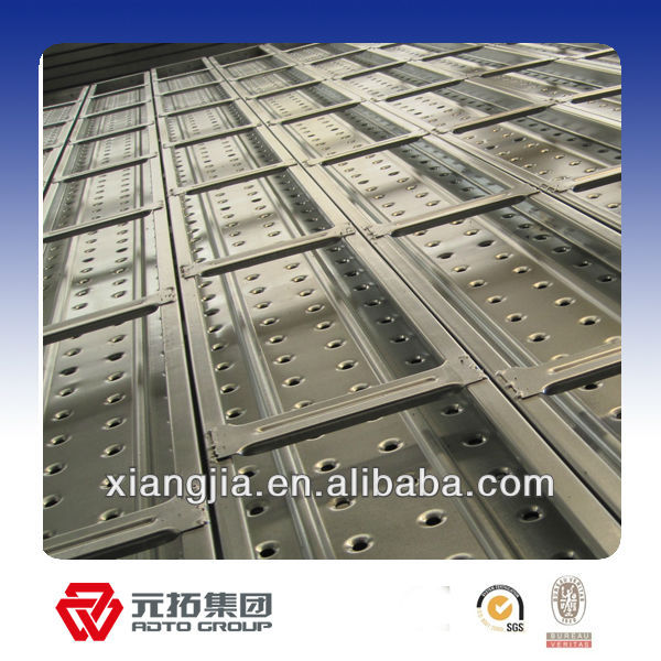 210mm,225mm;240mm 250mm galvanized steel scaffold plank