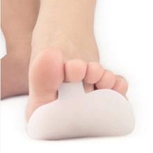 1 par Gel Forefoot metatarso bola de Foot Pads Toe Silicone coxim órteses pés dor Pedicure