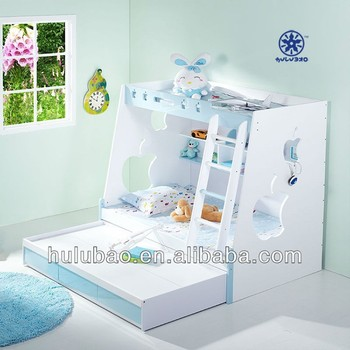 Hot Sale High Quality And Triple Bunk Beds For Kids Children