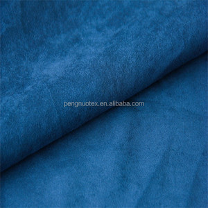 wholesale polyester stretch suede fabric/double faced suede for garment
