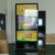 Floor Standing Android Kiosk 84 Inch IR Touch Screen LED Backlit Advertising Display Android 1080P lcd digital display
