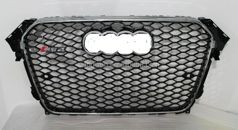 car front grille for 2013 audi RS4