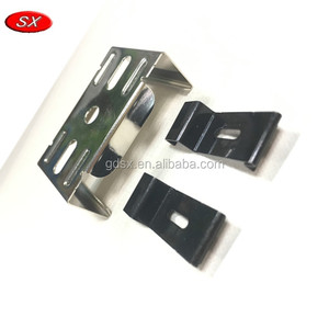 Customized spring steel made 2mm thickness u shape metal spring clip