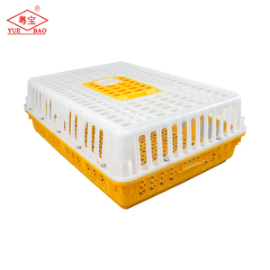China manufacturer supply livestock carrier transport plastic chicken poultry cage for sale