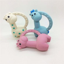 Eco-friendly monkey teether Soft Natural rubber toys