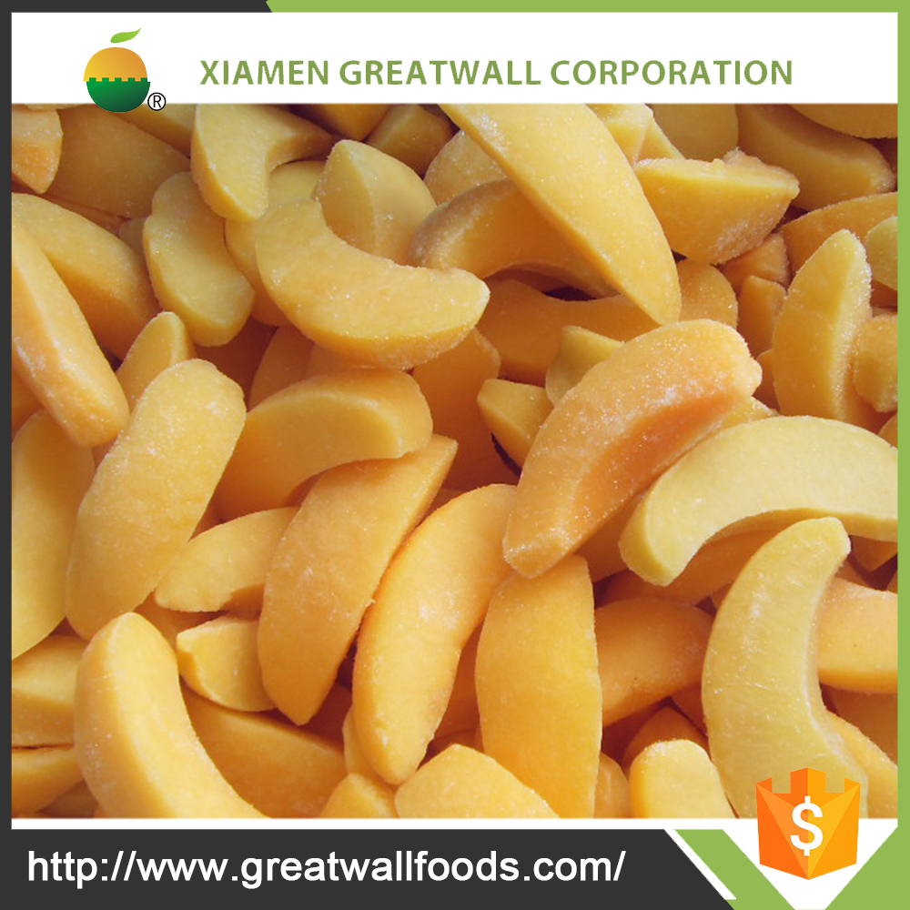 chinese IQF Yellow peach of good price