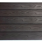 Groove dimensional lumber outdoor decorative interior wood laminate WPC wall panel wall cladding
