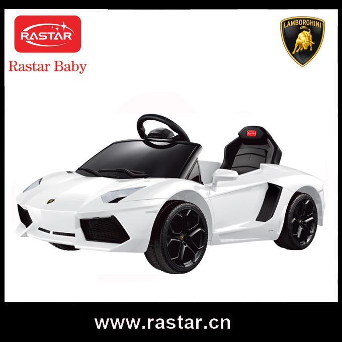 Lamborghini Electric Baby Car With Remote Control Rastar 6v Ride ...