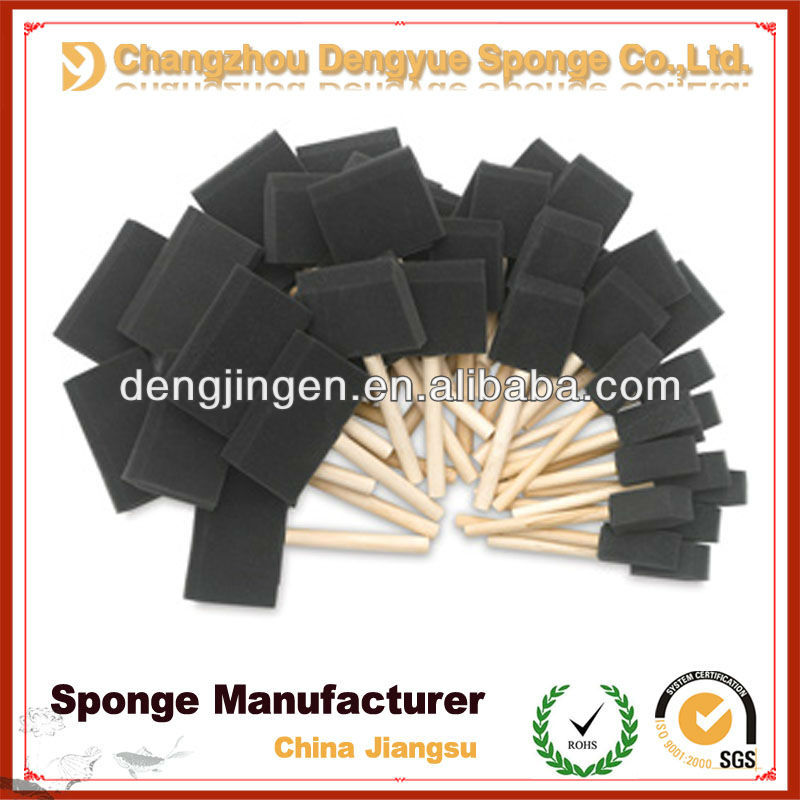 wooden handle dust remover sponge brush