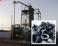 Most peofessional Waste Tire Pyrolysis Oil Machine waste tire pyrolysis to oil machine with high cost-performance ratio