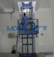 hydraulic vertical cargo lift outdoor material lift elevator wall mounted lift platform