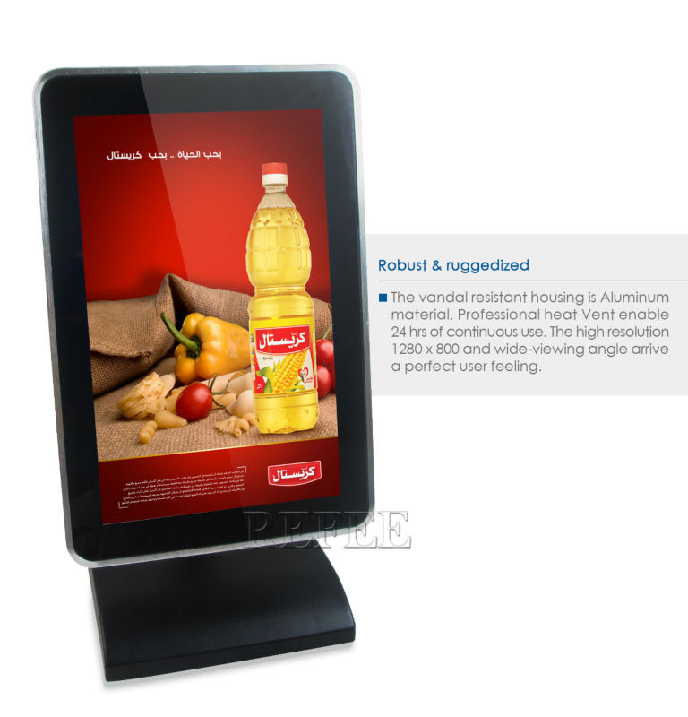 Touch Kiosk Table Lcd Advertising Player Android Tablet
