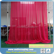 Trade show booth innovative backdrop wedding decoration manufacturer