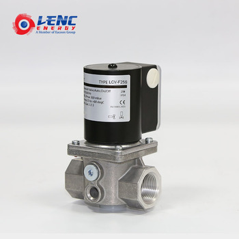 Low temperature dn25 fast opening valve for natural gas