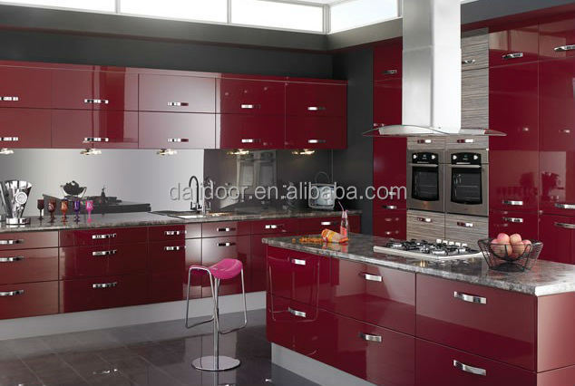 Red Lacquer Kitchen Cabinet, Red Lacquer Kitchen Cabinet Suppliers and  Manufacturers at Alibaba.com