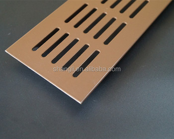 Ventilation Aluminum Wall Return Air Vent Grille For Kitchen Cabinet In  Fireplace Hot Sale In France