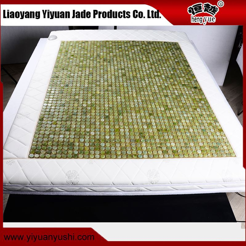 Super value OEM offered prevent from aging big massage relaxing jade heating mattress