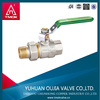 MF screwed thread ball valve water valve Medium Pressure pn-25 brass ball valve