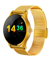 Newest style k88h smart watch support anti-lost heart rate monitor bluetooth mobile phones