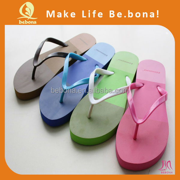 Custom bridal flip flops cheap wholesale flip flops 2015 ladies sandal shoes