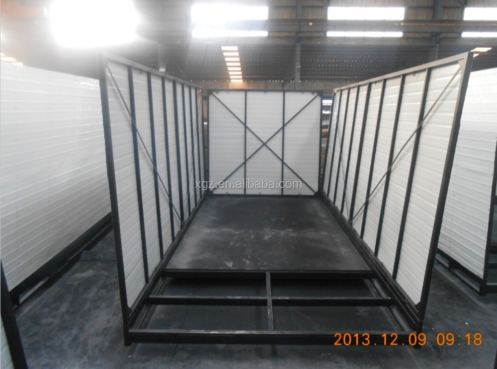 ISO 9001:2008 folding container house for storage exported Australia