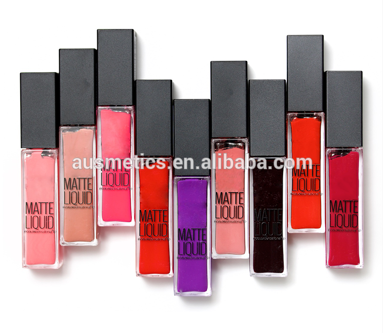 FDA approved factory price liquid matte lipstick long lasting waterproof lipstick