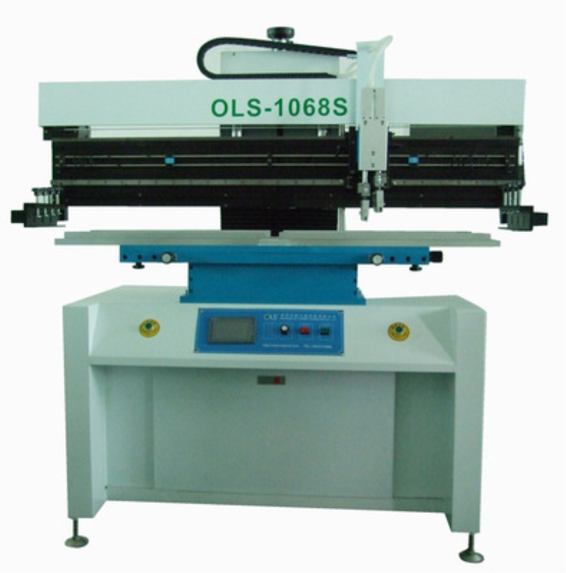1.2m semi automatic screen printer SMT stencil printer solder paste printer for LED tube strip light