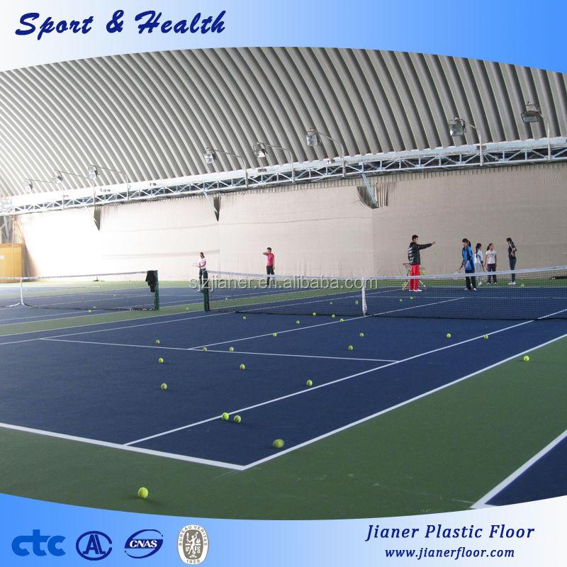 Cubierta de vinilo de pvc pavimentos deportivos de tenis - Pavimentos de vinilo ...