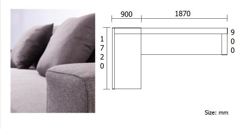 Moderne L Förmigen Polsterstoff Abdeckung Sofa Designs Und L Ecke Sofa Setzt  Für Wohnzimmer Möbel