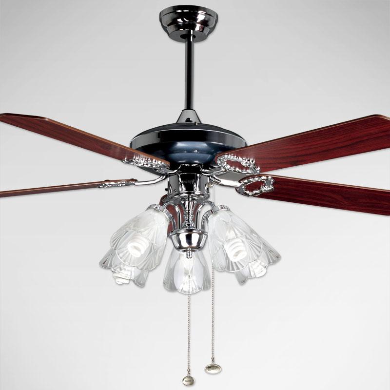 Compra ventiladores de techo negro luz online al por mayor