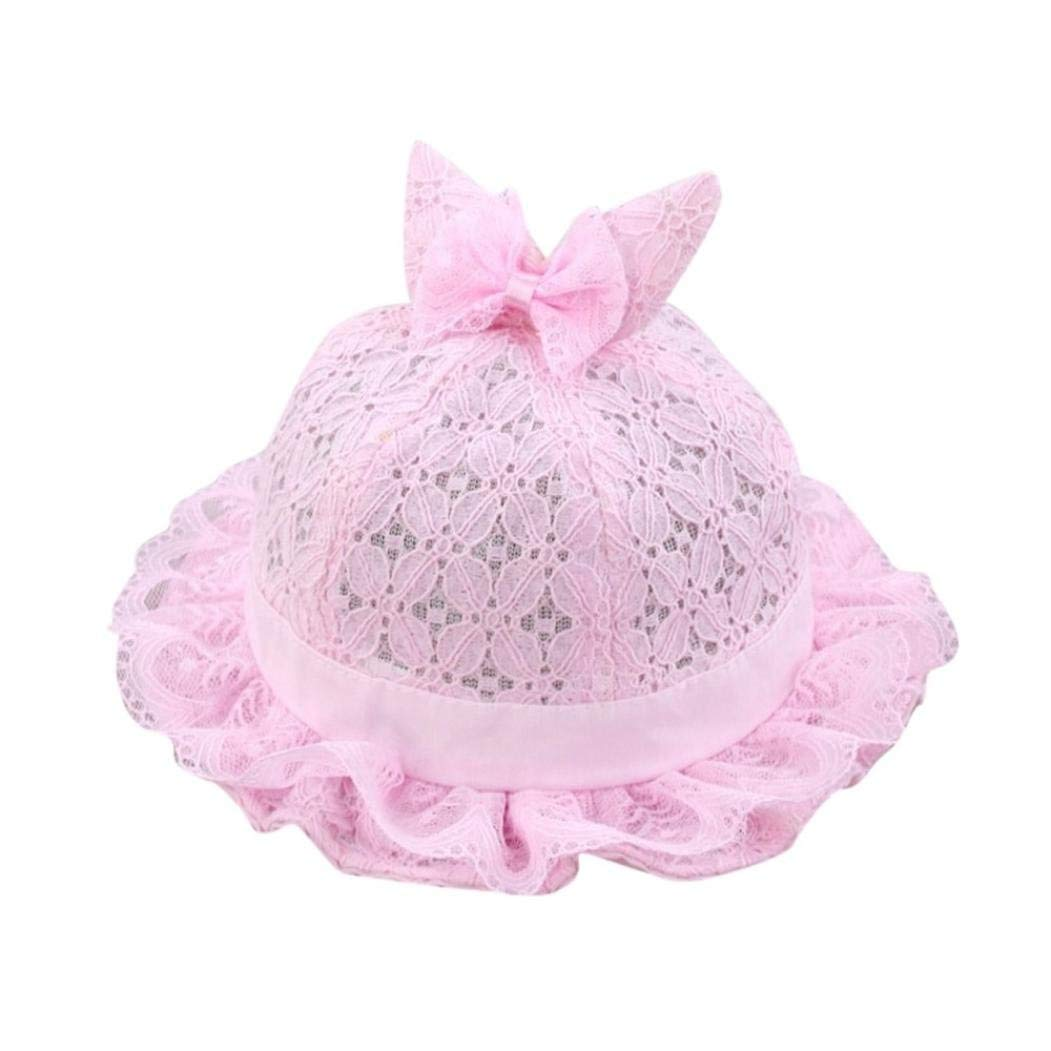 8c9fa2e8b09 Toddler Infant Girls Cute Dolls Children Hat Bowknot Summer Bucket Hat  Princess Rabbit Ears