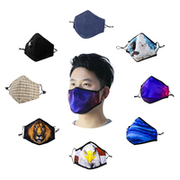 custom anti dust facemask printed design dustproof mouth face mask